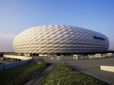 The Allianz Arena Football Stadium, Munich, Germany Photographic Print by Yadid Levy