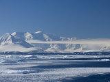 Pack Ice, Weddell Sea, Antarctic Peninsula, Antarctica, Polar Regions Fotografisk tryk af Thorsten Milse
