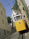 Funicular at Elevador Da Lavra, Lisbon, Portugal Photographic Print by Yadid Levy