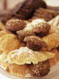 Croissants and Muffins, South Africa, Africa Photographic Print by Yadid Levy