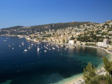 Villefranche Sur Mer, Provence, Cote d'Azur, French Riviera, France, Mediterranean Photographic Print by Sergio Pitamitz