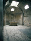 Baths, Pompeii, Campania, Italy Photographic Print by Christina Gascoigne