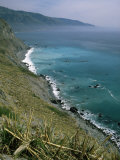 Coastline Between Big Sur and San Simeon, Monterey County, California, USA Photographic Print by Robert Francis