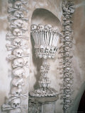 The Ossuary in Sedlec, Kutna Hora, Unesco World Heritage Site, Czech Republic Photographic Print by Kim Hart