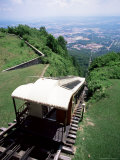 Lookout Mountain Incline Railway, the World's Steepest Passenger Line, Chattanooga, USA Photographic Print by Robert Francis