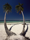 Beach on West Coast of Holiday Island off the Coast of Panay, Boracay, Philippines Photographie par Robert Francis