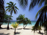 West Bay at the Western Tip of Roatan, Largest of the Bay Islands, Honduras, Caribbean Photographie par Robert Francis
