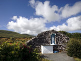 Shrine to the Virgin Mary, County Kerry, Munster, Republic of Ireland Photographic Print by Andrew Mcconnell
