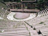 The Great Theatre, Pompeii, Unesco World Heritage Site, Campania, Italy Photographic Print by Christina Gascoigne