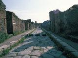 Via Di Nola, Pompeii, Campania, Italy Photographic Print by Christina Gascoigne