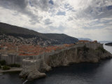 Dubrovnik, Unesco World Heritage Site, View from Fortress Lovrijenac, Dalmatian Coast, Croatia Photographic Print by Joern Simensen