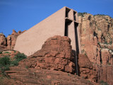 Chapel of the Holy Cross, Sedona, Arizona, USA Photographic Print by Kim Hart