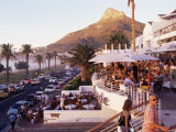 Camps Bay with Lions Head Mountain in Background, Cape Town, South Africa, Africa Photographic Print by Yadid Levy