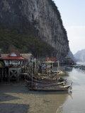 Ko Panyi, Muslim Fishing Village, Phang Nga, Thailand, Southeast Asia Photographic Print by Joern Simensen