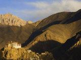 Lamayuru Gompa (Monastery), Lamayuru, Ladakh, Indian Himalayas, India Photographic Print by Jochen Schlenker