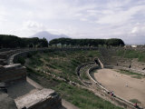 Amphitheatre, Pompeii, Unesco World Heritage Site, Campania, Italy Photographic Print by Christina Gascoigne