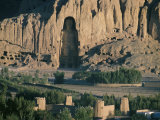 Buddha at Bamiyan, Unesco World Heritage Site, Since Destroyed by the Taliban, Bamiyan, Afghanistan Photographic Print by Christina Gascoigne