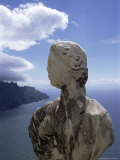 Sculpture, Villa Cimbrone, Ravello, Campania, Italy Photographic Print by Christina Gascoigne