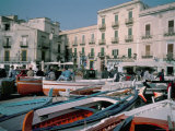 Marina Corta, Lipari, Aeolian Islands (Isole Eolie), Sicily, Italy, Mediterranean Photographic Print by Kim Hart