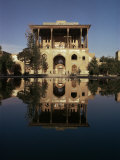 Ali Qapu Palace, Unesco World Heritage Site, Isfahan, Iran, Middle East Photographic Print by Christina Gascoigne