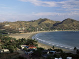 The Bay at San Juan Del Sur, South Coast, Pacific, Nicaragua, Central America Photographic Print by Robert Francis