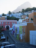 The Bo-Kaap Area, Known for Its Colourful Houses, South Africa Photographic Print by Yadid Levy