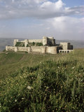 The Krak Des Chevaliers, Crusader Castle, Syria, Middle East Photographic Print by Christina Gascoigne