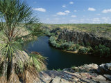 The Western End of Katherine Gorge in Nitmiluk National Park, the Top End, Australia Photographic Print by Robert Francis