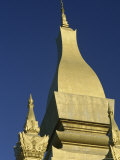 Detail of Spire, Phat That Luang, Vientiane, Laos, Indochina, Southeast Asia Photographic Print by R Mcleod