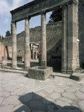 Propylaeum, Pompeii, Unesco World Heritage Site, Campania, Italy Photographic Print by Christina Gascoigne