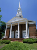 Baptist Church at Camden in Wilson County, Alabama, USA Photographic Print by Robert Francis