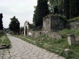 Via Dei Sepolchri, Pompeii, Unesco World Heritage Site, Campania, Italy Photographic Print by Christina Gascoigne
