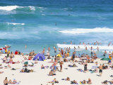 The Beach at Tamarama, South of Bondi in the Eastern Suburbs, Sydney, New South Wales, Australia Photographic Print by Robert Francis