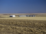 Farm on the Prairies in Cascade Country, Central Montana, USA Photographic Print by Robert Francis