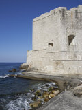 City Walls in Dubrovnik, Dalmatia, Croatia Photographic Print by Joern Simensen