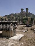 Sardis, Anatolia, Turkey, Eurasia Photographic Print by Christina Gascoigne