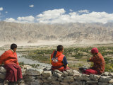 Young Buddhist Monks, Ladakh, Indian Himalaya, India Photographic Print by Jochen Schlenker