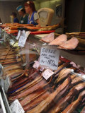 Smoked Fish on Sale in Irkutsk, Siberia, Russia Photographic Print by Andrew Mcconnell