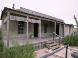 Bar and Courthouse of the Famous Judge Roy Bean, Langtry, Rio Grande, USA Photographic Print by Robert Francis