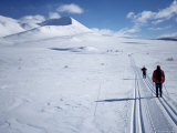 The Track Towards Peer Gynthytta, Below Mount Smiubelgen, Rondane National Park, Norway Photographic Print by Kim Hart