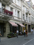 Didzioji Gatve (Main Street), Old City, Vilnius, Lithuania, Baltic States Photographic Print by Yadid Levy