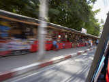 Tuk-Tuk Ride Through the Streets of Kata (Blurred), Phuket, Thailand, Southeast Asia Photographic Print by Joern Simensen