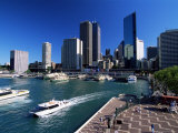 Sydney Cove and Circular Quay, Sydney, New South Wales, Australia Photographic Print by Robert Francis