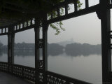 West Lake, Hangzhou, Zhejiang Province, China Photographic Print by Jochen Schlenker