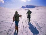 Track from Smuksjoseter Toward Formokampen, Rondane National Park, Norway, Scandinavia Photographic Print by Kim Hart