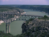 Highway 40 Bridge Over Pecos River, East of Langtry, West Texas, USA Photographic Print by Robert Francis
