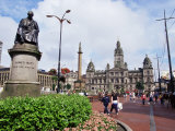 Town Hall, George Square, Glasgow, Scotland, United Kingdom Photographic Print by Yadid Levy
