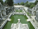 Swimming Pools Where the Court Pricesses Would Bathe, at Taman Sari, the Water Castle, Yogyakarta Photographic Print by Robert Francis
