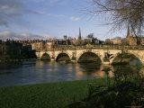 English Bridge, Shrewsbury, Shropshire, England, United Kingdom Photographic Print by Christina Gascoigne