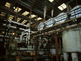 Processing Equipment, Portvale Sugar Factory, St. James Parish, Barbados Photographic Print by Robert Francis